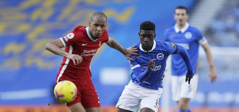 Liverpool can sign their Wijnaldum replacement in Yves Bissouma