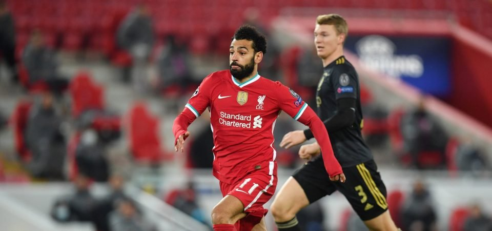 Liverpool plan to offer Mohamed Salah a huge new contract