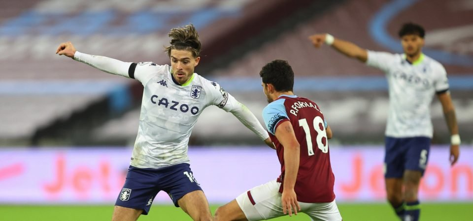 """Jack Grealish: Manchester United are """"crying out for"""" Aston Villa's £100m linchpin"""