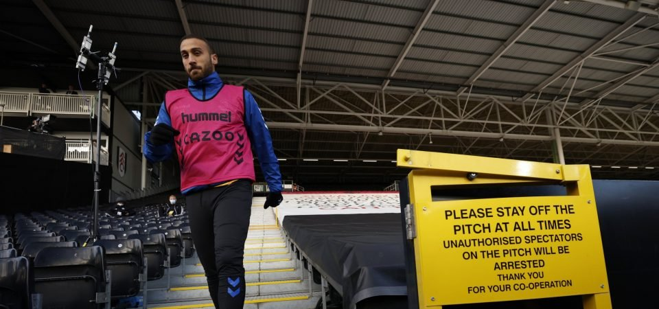 Cenk Tosun: Everton striker faces uncertain Goodison future as club willing to sell