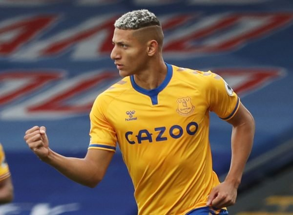 Everton-richarlison-crystal=palace-selhurst-park-premier league