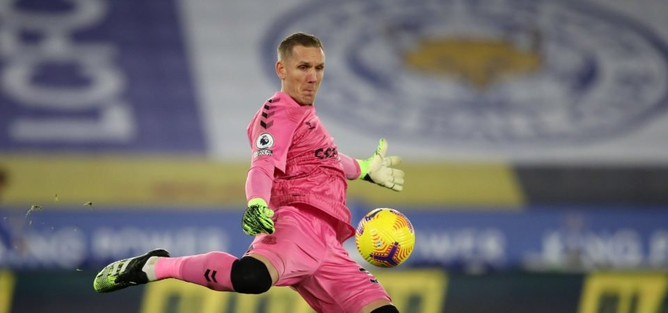 Everton: Robin Olsen hopeful of Man City role amid Jordan Pickford injury blow