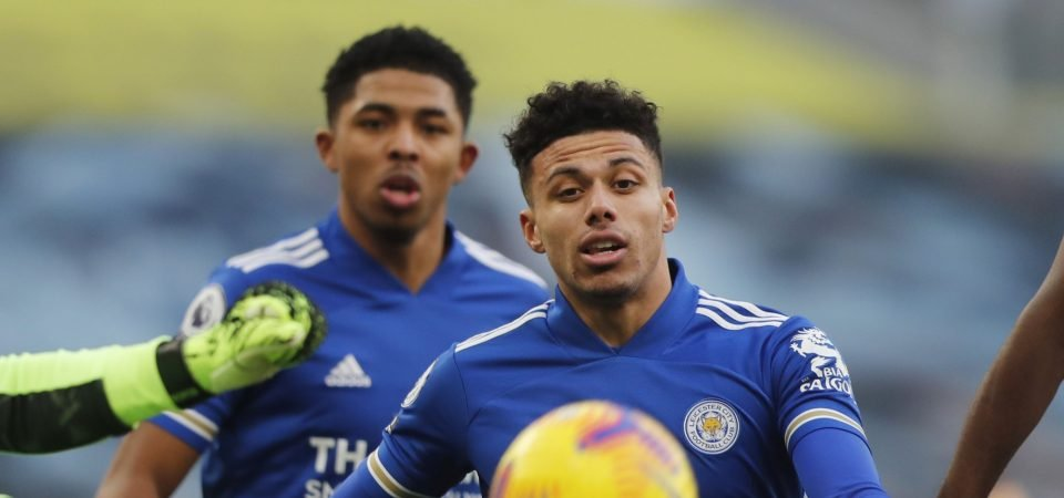 Leicester: James Justin was solid in 2-2 draw with Man United