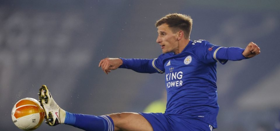 Leicester: Marc Albrighton was weak link in Man United draw