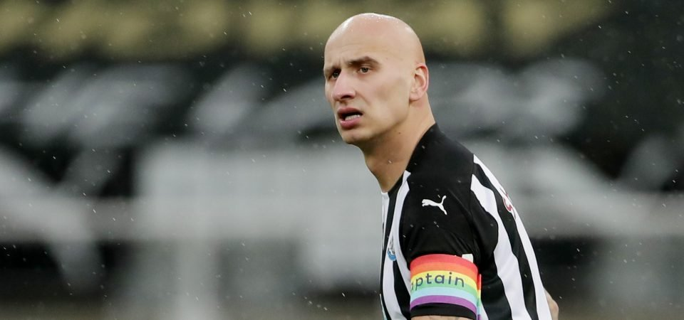 Exclusive: Rob Lee claims Jonjo Shelvey's role in the side is not to run