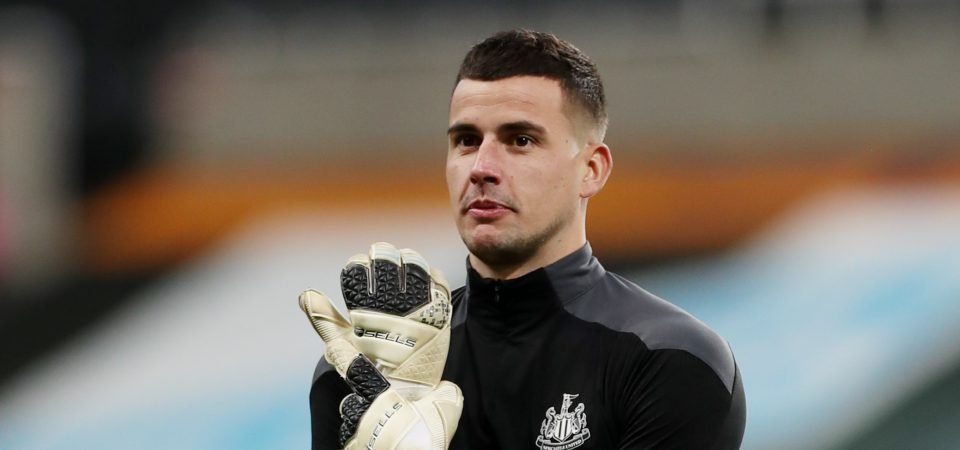 Karl Darlow: Paul Robinson tips goalkeeper to quit Newcastle this summer