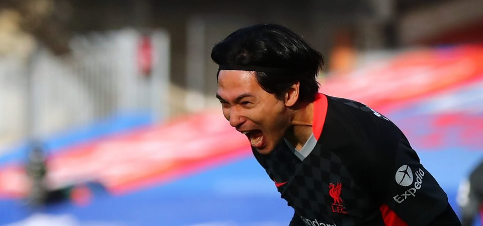 Liverpool: Takumi Minamino delivers bold statement in Crystal Palace win
