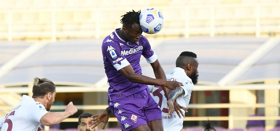 Crystal Palace must avoid signing Fiorentina striker Christian Kouame in January