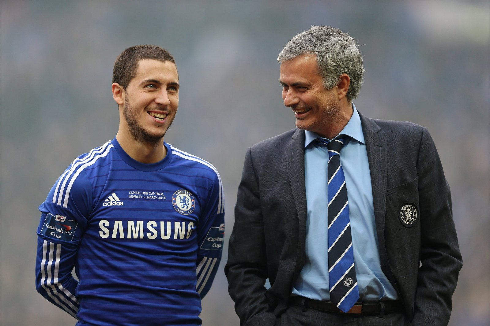 "eden hazard and jose mourino league cup win over spurs - Levy could land Mourinho his next Hazard with £36m Spurs swoop for ""rare"" speed demon - opinion"