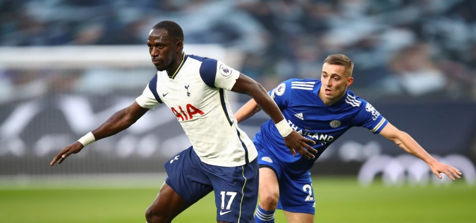 Spurs: Moussa Sissoko was pathetic in their defeat to Leicester City