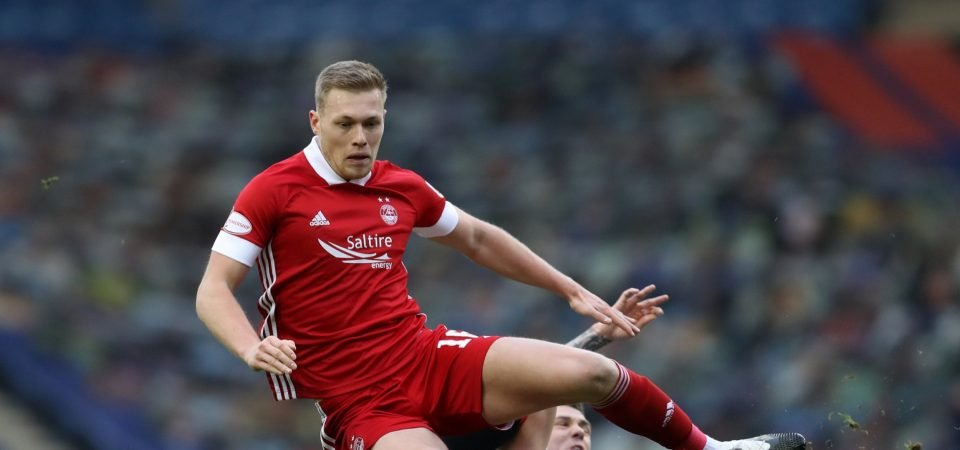 Sam Cosgrove: Stoke City scout Newcastle United target in Aberdeen defeat
