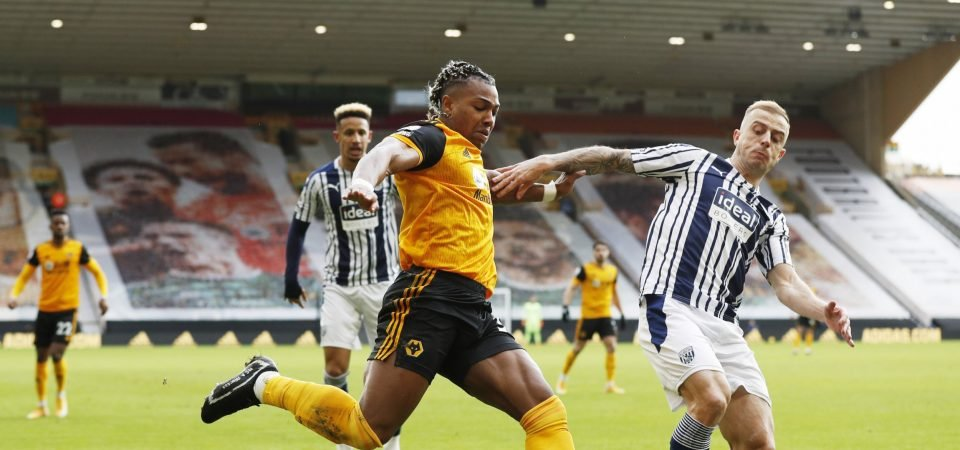 Leeds target Adama Traore delivered a masterclass for Wolves