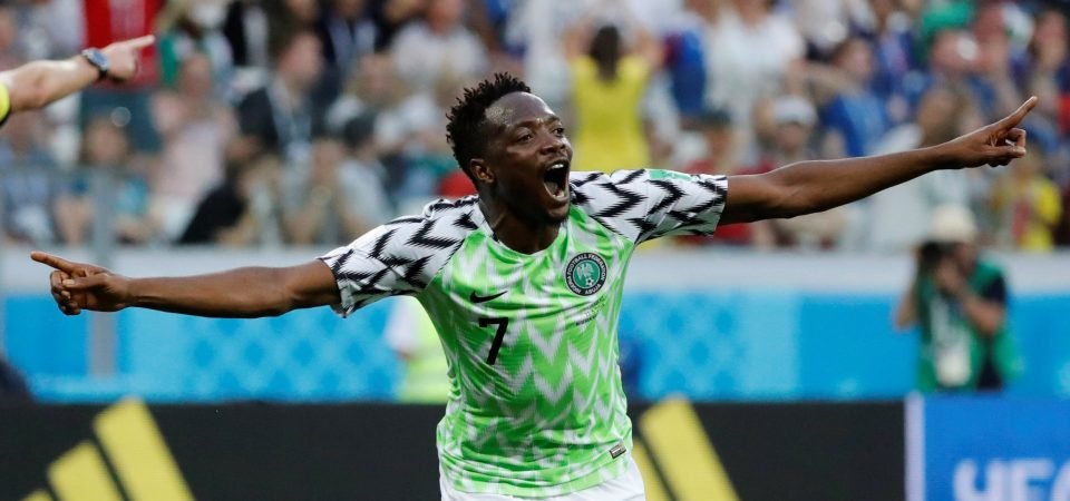 Wolves eye swoop for Ahmed Musa