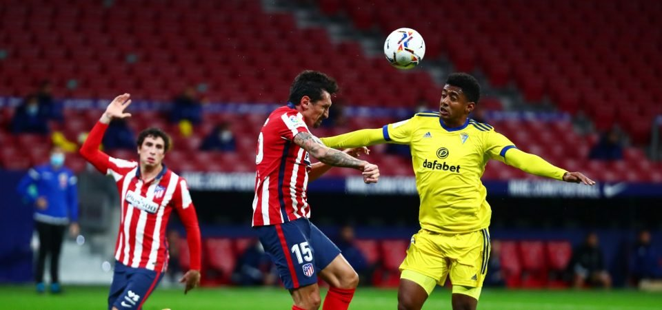 Anthony Lozano: Cadiz CF open to selling West Ham United target in January