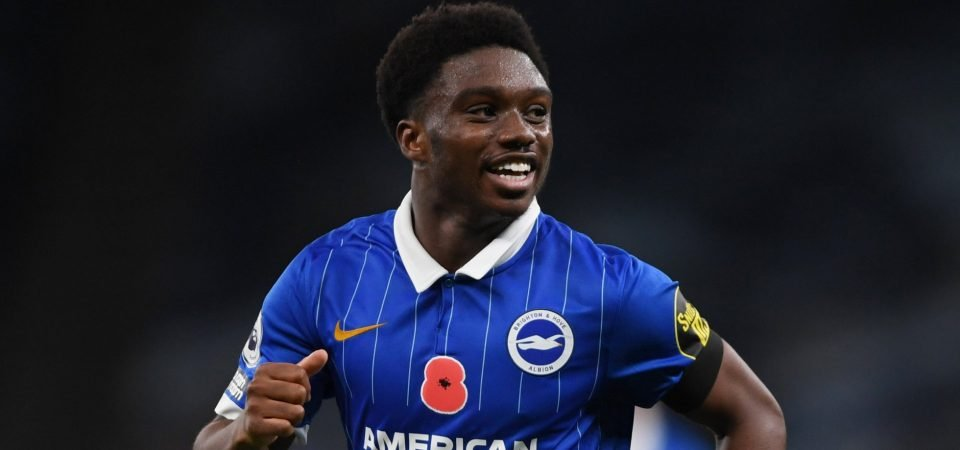 Everton undeterred by Tariq Lamptey signing new £40k-p/w Brighton contract