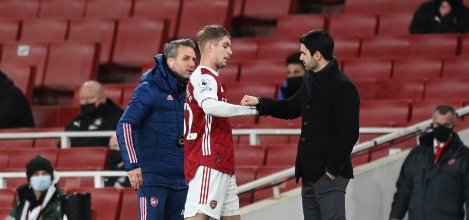 "Forget Aubameyang: Arsenal's Emile Smith Rowe was ""extraordinary"" vs Newcastle"