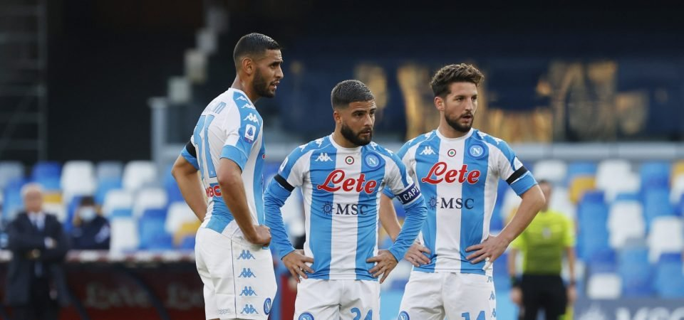 Faouzi Ghoulam: Newcastle United request to sign Napoli full-back on loan