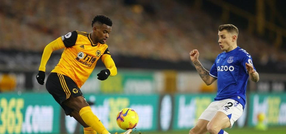 Wolves' Nelson Semedo is a liability at the back