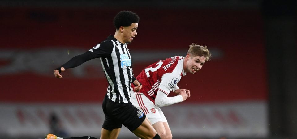 Newcastle's Jamal Lewis proved Steve Bruce got one thing right in Arsenal loss