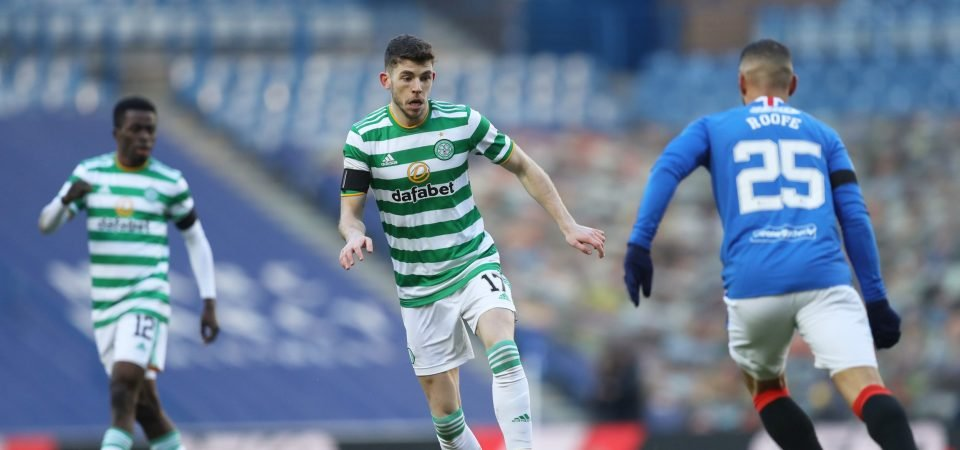 Ryan Christie let Celtic down on Wednesday