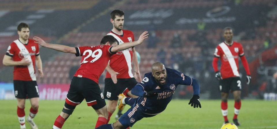 Jake Vokins struggled defensively in Southampton loss to Arsenal