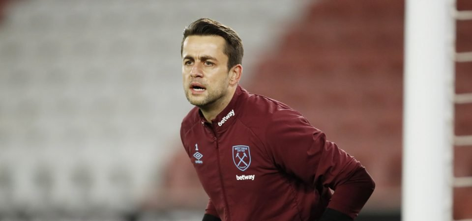 Lukasz Fabianski: West Ham goalkeeper an injury doubt for Burnley clash