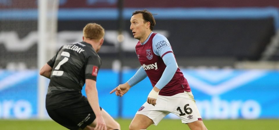 Mark Noble: West Ham midfielder lights up FA Cup rout of Doncaster Rovers