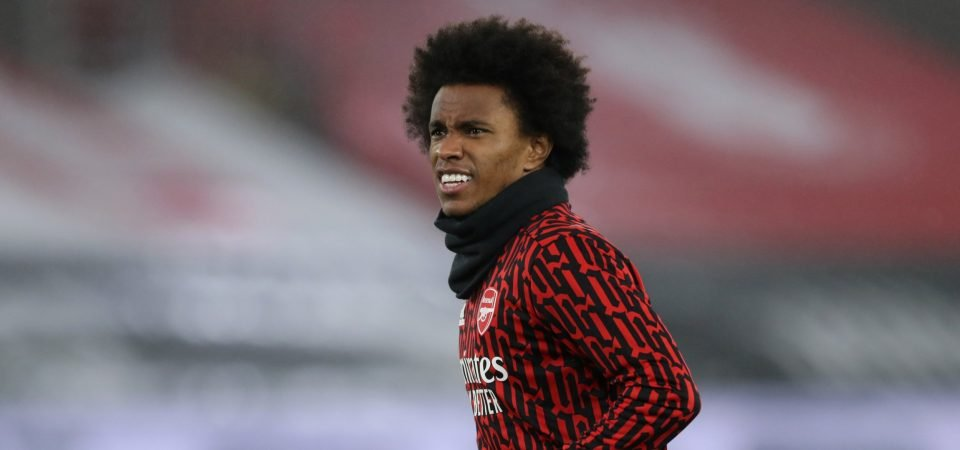 "Exclusive: Pundit slams Arsenal star Willian over ""awful"" displays"