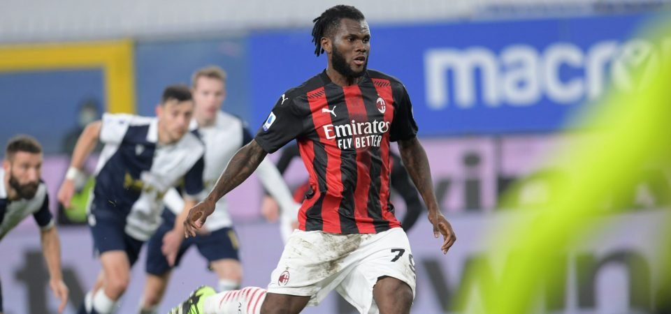 Spurs could seal AC Milan's Franck Kessie on a free transfer