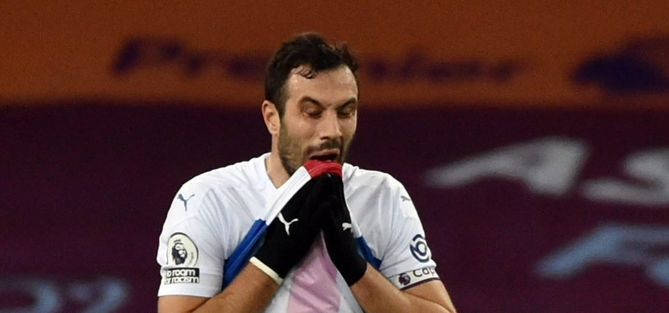 Crystal Palace: Luka Milivojevic won't feature against Brentford