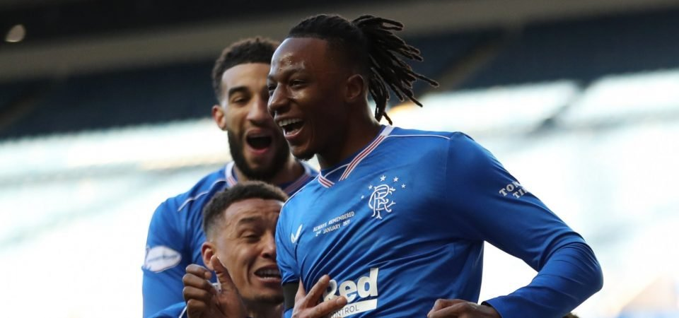 Joe Aribo produced a dominant Rangers display against Ross County