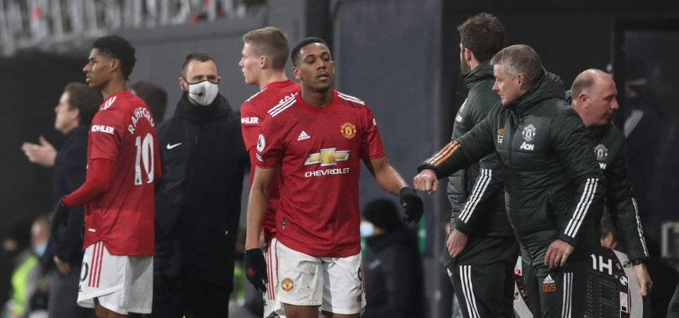 Manchester United striker Anthony Martial was shocking in Sheffield United defeat