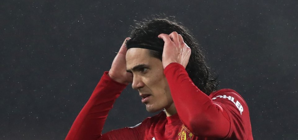 Manchester United: Red Devils hit with crushing Edinson Cavani development