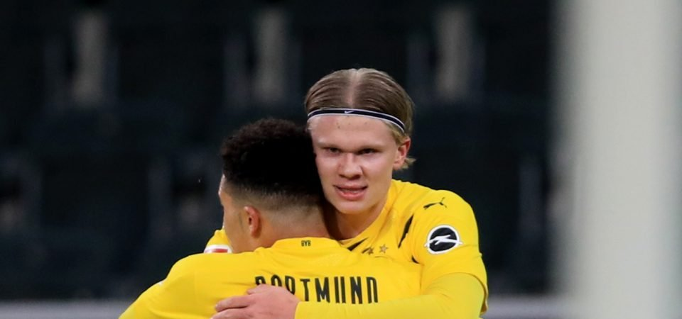 Manchester United could sign their next Ruud van Nistelrooy in Erling Braut Haaland
