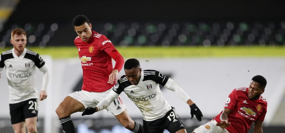 Manchester United's Mason Greenwood was disappointing against Fulham