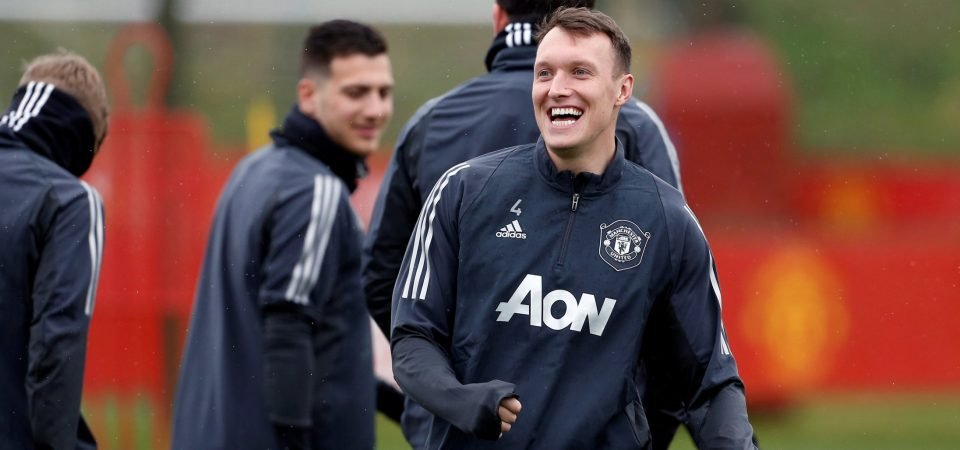 Manchester United could look to sell Phil Jones if they sign a replacement this summer