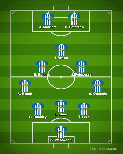 sheffield-wednesday-predicted-xi-vs-everton-fa-cup-neil-thompson-lineup-team-injury-news