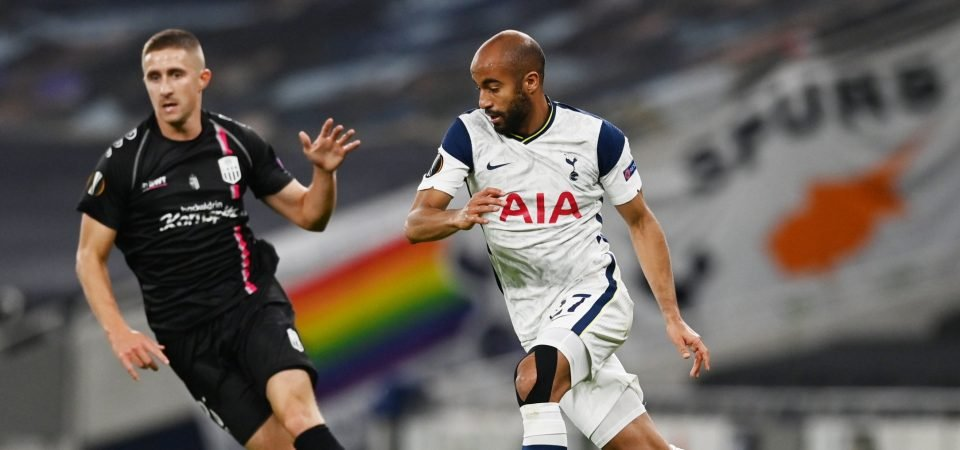 Lucas Moura showed vs WBA that he can still be key for Tottenham Hotspur