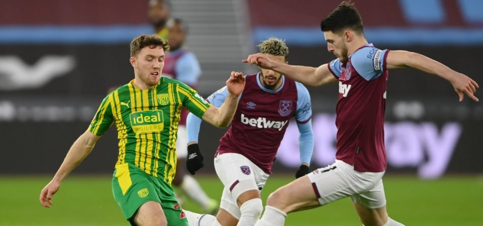 Dara O'Shea badly let West Brom down in West Ham defeat