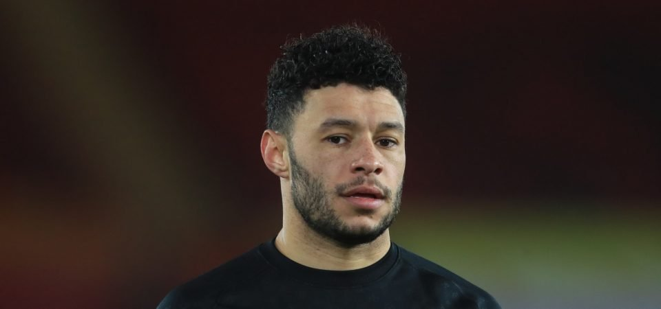 Liverpool should start Alex Oxlade-Chamberlain vs Man City