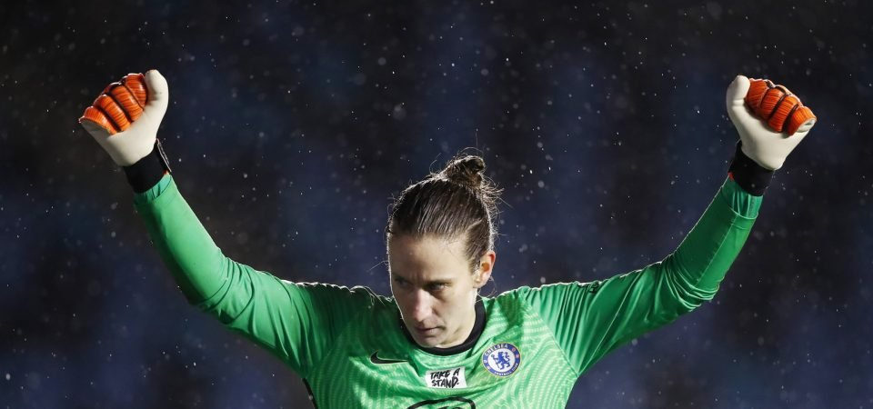 Chelsea's Ann-Katrin Berger Wins January FA WSL Fans' Player of The Month Award