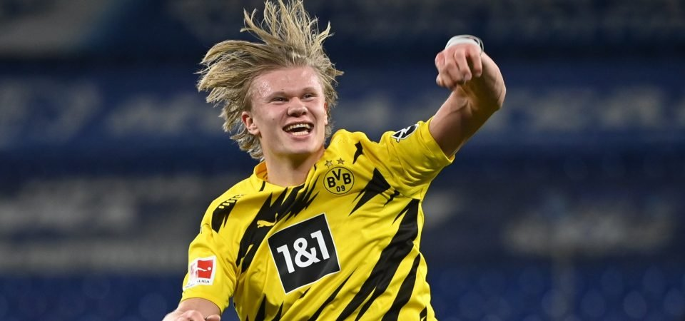 Erling Haaland: Everton rejected Borussia Dortmund striker after four-day trial