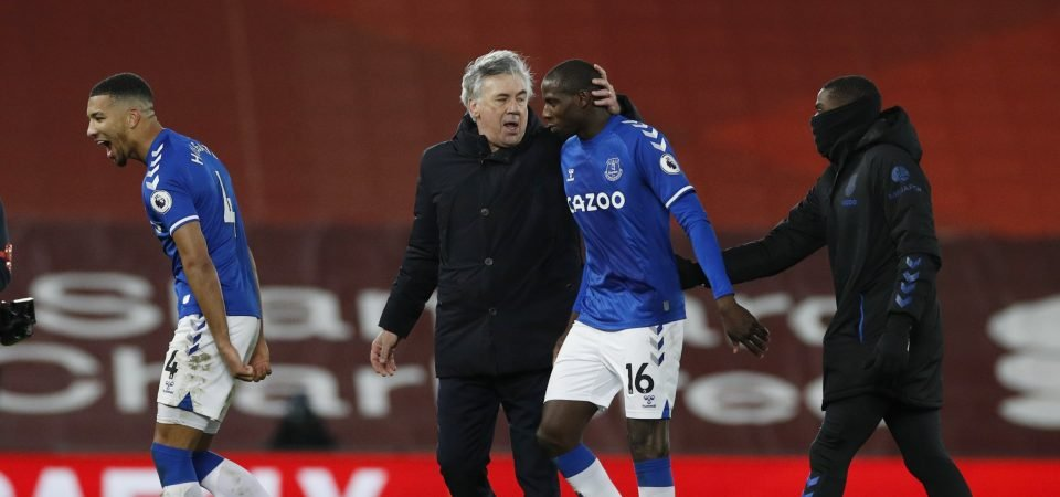 Everton: Carlo Ancelotti praises Marcel Brands for Abdoulaye Doucoure deal