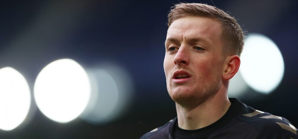 Jordan Pickford: Everton goalkeeper faces late fitness test for FA Cup vs Tottenham