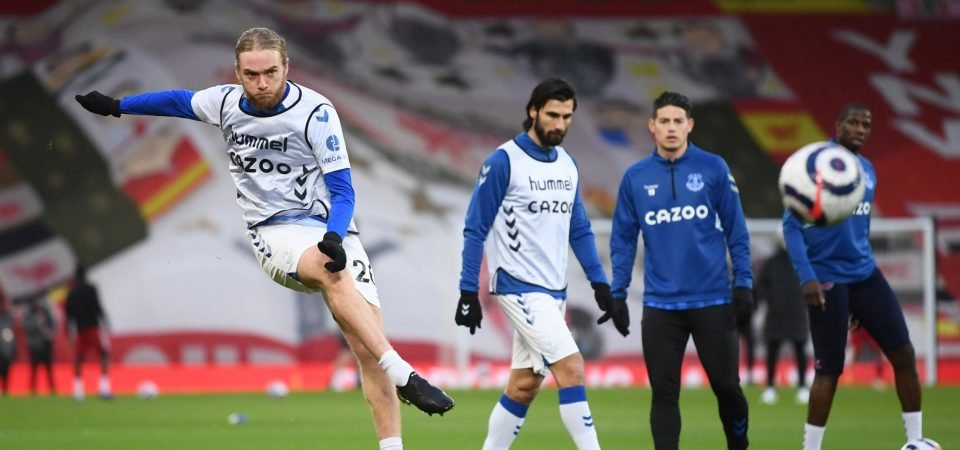 Carlo Ancelotti must find perfect role for Everton's Tom Davies with Allan return