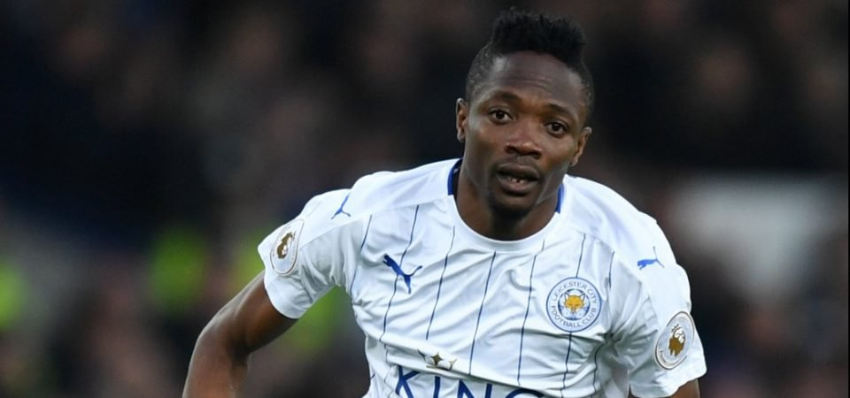 Ahmed Musa: Newcastle weigh up move to sign ex-Leicester forward for free