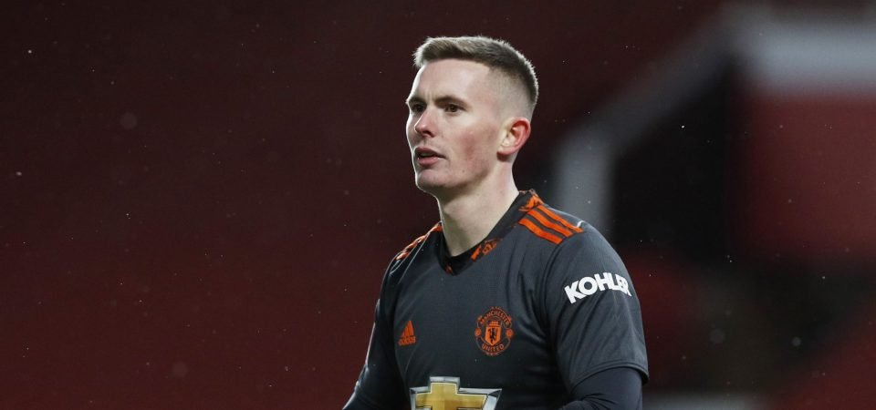 Dean Henderson: West Ham express interest in transfer of Man Utd goalkeeper