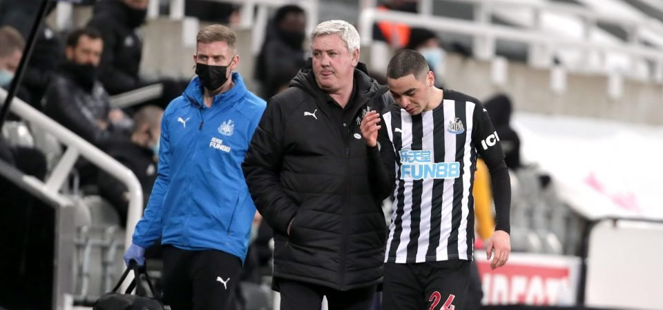 Exclusive: Carlton Palmer criticises Miguel Almiron after Newcastle fight comments