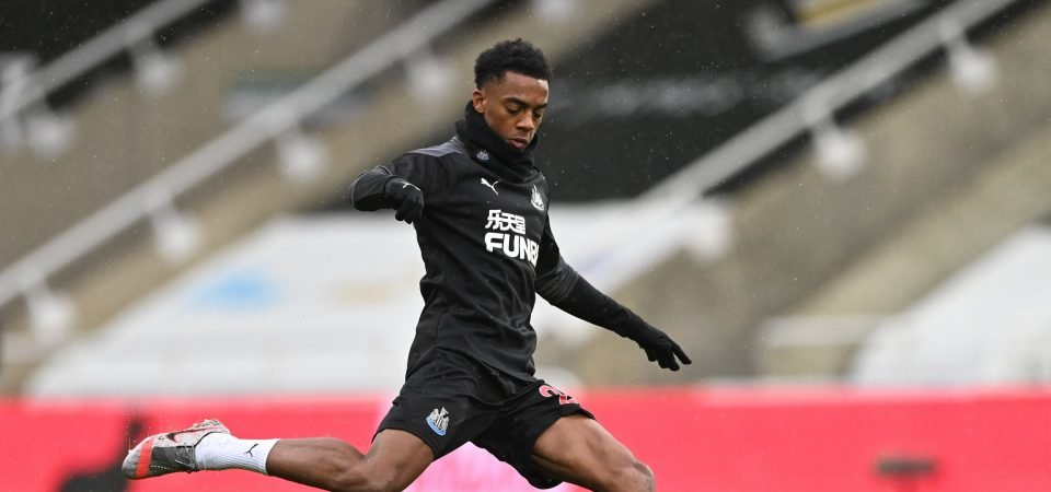 Exclusive: Howey hopes Newcastle have opened talks with Joe Willock