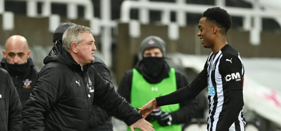 Exclusive: Rob Lee backs Newcastle to sign Joe Willock